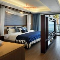 Wholesale Modern Resort / Star Hotel Bedroom Furniture Queen Size Dark Brown from china suppliers