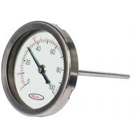 Wholesale Indoor Mini round shape Bimetal Temperature measurement Sensor thermometer hygrometer from china suppliers