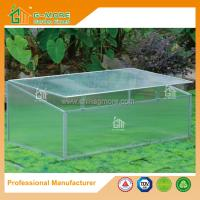 Wholesale 100x 60 x 40cm Silver Color Cold Frame Series Garden Greenhouse from china suppliers