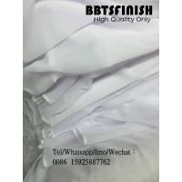 Buy cheap BBTSFINISH High twisted spun full voile 44 inch Bluish White fabric used for muslim scarf, shawel, head cover from wholesalers
