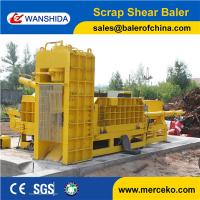 Wholesale Best price Scrap Metal Shearing Baler Machine to cut and press waste copper & aluminum export from china suppliers