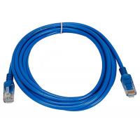 Wholesale indoor installation Cat5e UTP 26AWG Network Patch Cord with PVC Jacket , Blue from china suppliers