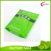 Wholesale Resealable Zip Top Plastic Stand Up Bag , Spring Tea Packaging Plastic Bag from china suppliers
