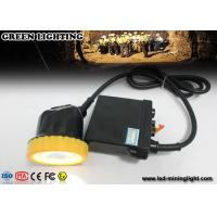 Wholesale 50000 Lux Strong Brightness Waterproof Rechargeable Led Hard Hat Light Hunting With Li - Ion Battery from china suppliers