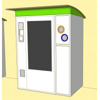 Quality 2 in1 Service Kiosk Automated Reverse Vending Machine , Snack and Drink Vending Machine for sale