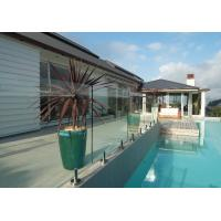 Wholesale popular designs clear tempered glass pool deck railings lowes from china suppliers
