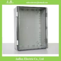 Wholesale 400x300x170mm ip66 PC clear switch box with lock from china suppliers