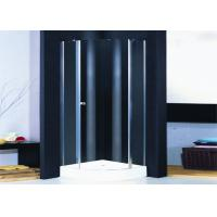 Wholesale Tempered Glass 900MM Quadrant Shower Enclosure Hinged Door Frameless from china suppliers