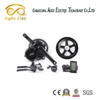 Wholesale BBS02 Bafang Crank Electric Push Bike Conversion Kits 500 Watt 80 % Efficiency from china suppliers