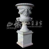Wholesale Natural Stone(Marble/Granite)Flower Pot/Vase from china suppliers