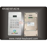 Wholesale Dustproof Access Entry System stainless steel keypad with 16 Keys from china suppliers