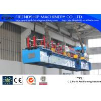 Wholesale 1.5-2.5mm Thickness And Durable C Z Purlin Roll Forming Machines With 18 Forming Stations from china suppliers