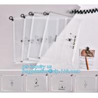 Wholesale durable clear PVC Slider zipper stand up bag, 100% oxo boidegradable clear pvc slider zip bags, Frosted plastic bag with from china suppliers