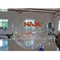 Wholesale 2.6M Large PVC Inflatable Zorb Balls With Logo and 2 Sets Safety Seats / Belts from china suppliers