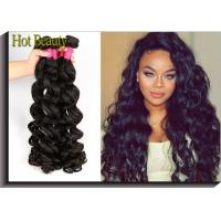 Wholesale Brand New Non Remy Brazilian Virgin Human Hair Extensions Big Curly , Real Human Hair Weave from china suppliers