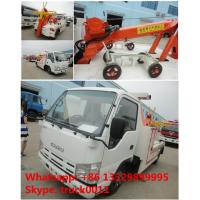 Wholesale 2017s new iSUZU 3tons road wrecker tow truck for sale, best price high quality ISUZU brand breakdown vehicle for sale from china suppliers