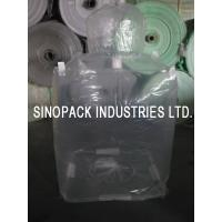 Wholesale Transparent 3mil 6mil thickness Form Fit PE big bag liner of LLDPE/LDPE from china suppliers