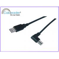 Wholesale 24K gold contacts Type A to right angled B 2.0 USB Cables Male to Male from china suppliers