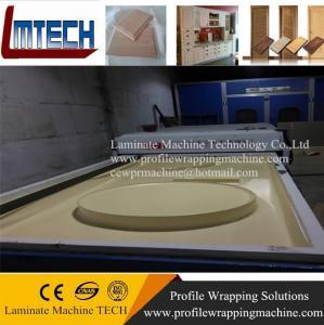 Quality german pvc membrane press kitchen cabinet doors machine for sale
