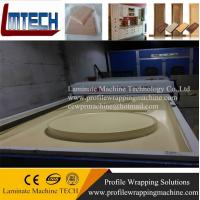 Buy cheap german pvc membrane press kitchen cabinet doors machine from wholesalers