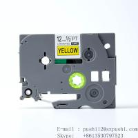 Wholesale Brother black on white P-touch Label tape cassette for Label Makers TZe631 TZe-631 from china suppliers