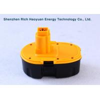 Wholesale Rechargeable 18V 3000mAh Ni-MH Cordless Tool Batteries For Dewalt DC9096 Replacement from china suppliers