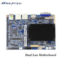 Wholesale Industrial Dual LAN Fanless Bay Trail Motherboard With VGA HDMI LVDS 6 COM LPT GPIO from china suppliers