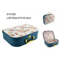 Wholesale High End Handle Cardboard Suitcase Gift Box Fashion With Cmyk Printing from china suppliers