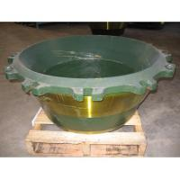 Buy cheap high manganese steel casting Kawasaki concave and mantle with Mn13Cr2 Mn18Cr2 Mn22Cr2 from wholesalers