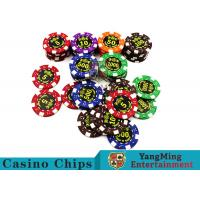 Wholesale Good Printing Non - Faded Casino Royale Poker Chips With Special ABS Material from china suppliers