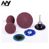 Wholesale Roll Lock Quick Change Abrasive Discs , 2 Inch 3m Roloc Grinding Disc Type S from china suppliers