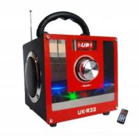 Wholesale FM Radio Portable Speaker 2.0 Sound Channel Wood Box (UK-R32A) from china suppliers