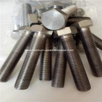 Buy cheap Titanium hexagon bolts M22 ,GRADE 2 TITANIUM HEX HEAD CAP SCREW,FULL THREAD,100 PCS WHOLES from wholesalers