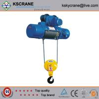 Buy cheap High Working Efficiency CD Type Single Speed Electric Hoist 10000lbs from wholesalers