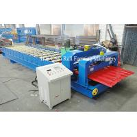 Wholesale 5.5KW Glazed Tile Steel Roll Forming Machine 5T Manual Decoiler from china suppliers