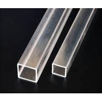 Wholesale Transparent Square Extruded Acrylic Tube Clear Plexiglass Square Tubing For Packing from china suppliers