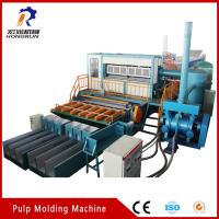 Wholesale 6000pcs/h big capacity recycling waste Paper Egg Tray Making Machine from china suppliers