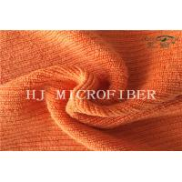 Wholesale Orange Color Microfiber Big Peral Superpol Cleaning Cloth Fabric With Hard Wire from china suppliers