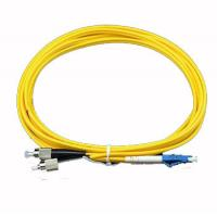 Wholesale High Quality Fiber Optic Cable Single Mode FC-LC , Duplex ( SM DX ) from china suppliers