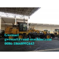 Wholesale White / Yellow 11000KG Motor Grader 136HP Engine Tractive Force 61.3KN from china suppliers