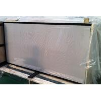 Wholesale Safety Tempered Glass for Solar Panels 3.2mm low iron with black boarder printing from china suppliers