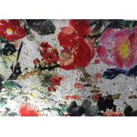Wholesale Traditional Painting White Velvet Fabric Microfiber Velvet Fabric 145cm Width from china suppliers