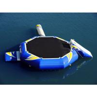 Wholesale Hight Quality Water Park Inflatable Blue Water Trampoline Combo from china suppliers