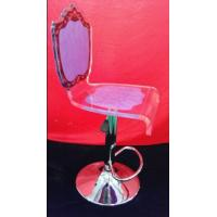 Wholesale eco-friendly Modern Acrylic Furniture , Transprent purple acrylic chair from china suppliers