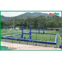Wholesale Giant Outside PVC Tarpaulin Inflatable Soccer / Football Field Court CE Standard from china suppliers