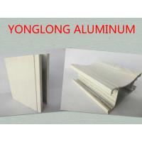 Wholesale Customized Rectangle Wood Finish Aluminium Profile For Door Corrosion Resistance from china suppliers