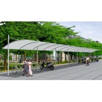 Wholesale Metal Driveway Car Canopy Tents Shelter With Waterproof PVDF Fabric from china suppliers