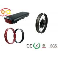 Wholesale 10 Hours Charging Time Fat Tire Electric Bike Conversion Kit With Hand Grip from china suppliers