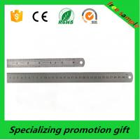 Wholesale Product 2016 custom 30cm stainless steel ruler made in China with Logo printed from china suppliers