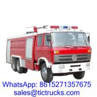 Wholesale Cheap 12000L 210HP Foam Fire Truck 6 x4 DongFeng for sale from china suppliers